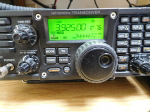 3.925 MHz on the IC-7200