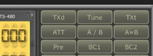RCForb software buttons image